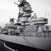 Photo taken at USS Wisconsin (BB-64) by Steph P. on 6/19/2013