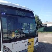Photo taken at Stelplaats De Lijn by René B. on 7/31/2014