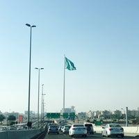 Photo taken at Jeddah Flagpole by Turki A. on 4/30/2016