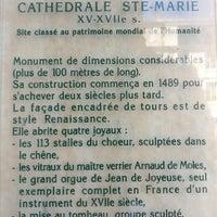 Photo taken at Cathédrale Sainte Marie by 아드리아 on 8/21/2017