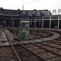 Photo taken at Umekoji Steam Locomotive Museum by yasuhiro o. on 4/14/2013