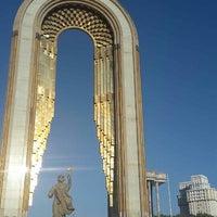 Photo taken at Парк Рудаки / Rudaki Park by Bahtovar S. on 9/4/2015