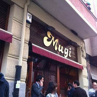 Photo taken at Mugi by Miguel Ángel G. on 12/28/2012