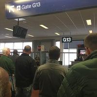 Photo taken at Gate G13 by Derek on 2/6/2017