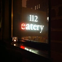 Photo taken at 112 Eatery by Derek on 3/10/2013