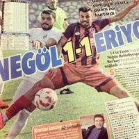 Photo taken at Niğde Belediyespor Tesisleri by Cevret 61  ⚽️💪 on 11/29/2016