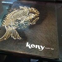 Foto tirada no(a) Kony Sushi Bar por Pedro A. em 10/9/2012