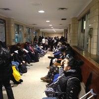 Photo taken at Newark Penn Station - Track 1 by alexander s. on 11/10/2012
