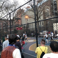 Photo taken at West 4th Street Courts (The Cage) by alexander s. on 2/21/2018