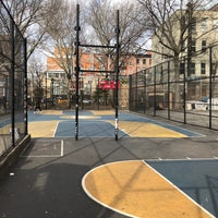Photo taken at West 4th Street Courts (The Cage) by alexander s. on 3/14/2018