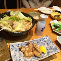Photo taken at うろこ屋 by lunahirox on 11/12/2014