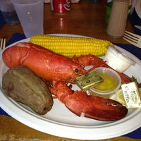 Photo taken at Brewsters Seafood Market by Ricky F. on 4/26/2013