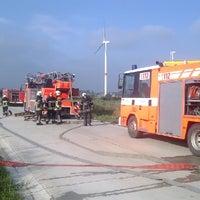 Photo taken at Windmolenpark by Peter-Jan G. on 7/26/2014