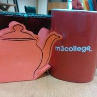 Photo taken at M3 College by Pirina K. on 2/25/2014