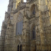 Photo taken at York Minster by Dallas C. on 2/16/2013