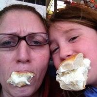Photo taken at Nyack Hot Bagels & Deli by Monika D. on 2/15/2013