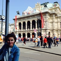 Photo taken at Kulturpassage Karlsplatz by Alesya Y. on 5/1/2014