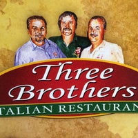Photo taken at Three Brothers Italian Restaurant by Eric S. on 5/1/2015