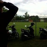 Photo taken at Lapangan Yoga Perkanti Jimbaran by Rizal p. on 11/29/2013