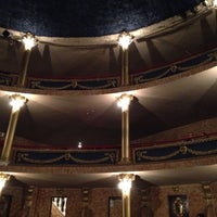 Photo taken at Teatro Abril by Abbie on 12/7/2013