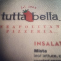 Photo taken at Tutta Bella Neapolitan Pizzeria by Matt P. on 6/24/2013