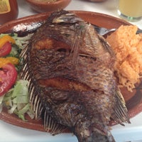 Photo taken at OaxtePEZ mariscos & grill by Bet P. on 4/26/2014