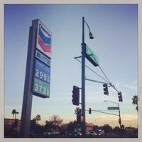 Photo taken at Chevron by Gary B. on 12/10/2013