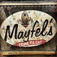 Photo taken at Mayfel's by Angela on 2/16/2013