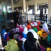 Photo taken at Surau Al-Iman by Nor Shamsul K. on 11/28/2012
