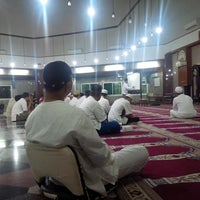 Photo taken at Masjid Babussalam by Dani S. on 6/13/2015