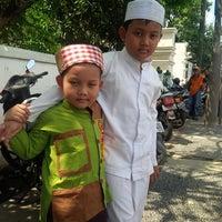 Photo taken at Masjid Pangeran Jayakarta by Dani S. on 5/16/2014