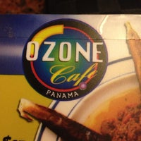 Photo taken at Ozone Café by Carlos S. on 8/17/2014