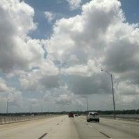 Photo taken at Henry Holland Buckman Bridge by Kat M. on 6/23/2013