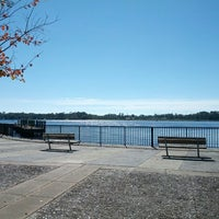 Photo taken at Metro Park, City Boat Docks by Kat M. on 11/24/2012