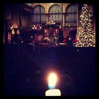 Photo taken at Riverside Baptist Church by Kat M. on 12/25/2013