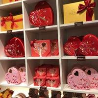 Photo taken at Godiva Chocolatier by Ivy on 1/16/2018