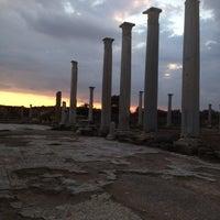 Photo taken at Salamis Ruins by TC Nalan İ. on 12/6/2013