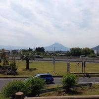 Photo taken at ドッグラン桜島SA / Dog Run Sakurajima SA by Ayano on 5/6/2014