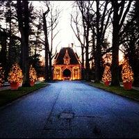 Photo taken at Biltmore Estate Main Gate by Timoteo on 12/7/2012