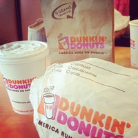 Photo taken at Dunkin Donuts by Tricia L. on 5/11/2013