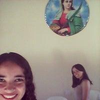 Photo taken at Capela de Santa Luzia - Trairussu by Camila C. on 2/23/2014