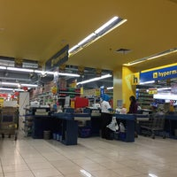 Photo taken at Hypermart by Ferry S. on 2/12/2017