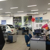 Photo taken at Domani Fiat by Luciana M. on 1/31/2014