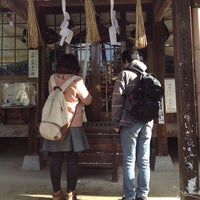Photo taken at 岡山神社 by みわ姫 on 1/2/2015