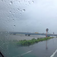 Photo taken at 神島橋 by みわ姫 on 9/4/2013