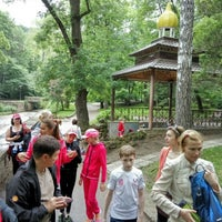 Photo taken at Святой Источник by Виталий Б. on 6/5/2016