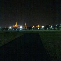 Photo taken at Sanam Luang by Samard D. on 2/11/2013