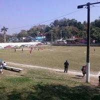 Photo taken at Campo Deportivo Mario Prichi Barrera (Rastro) by Toki C. on 2/15/2014