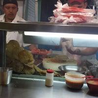 Photo taken at Tacos El Amigo by Abel N. on 12/15/2013
