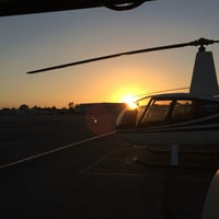 Photo taken at Orbic Air Helicopter Tours by Fatima on 9/29/2014